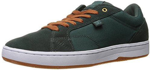 DC Men's Astor Skateboarding Shoe, Dark Green, 9 D US