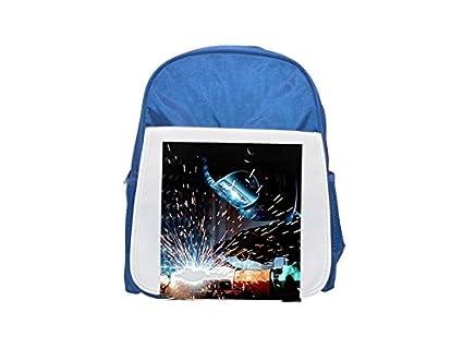 Soldadura, Soldadura caliente, Radio, soldador impreso Kid s azul mochila, para