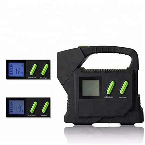 QUARKJK Cargador de batería Auto portátil de Emergencia 12V/24V Mini Multi Coche batería de Litio 23100mah PowerBank Jump...