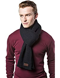 Winter Scarf for Men, Soft Knit Scarve, in an Elegant Gift Box