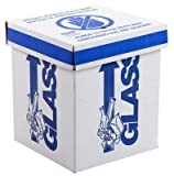 Dynalon 797005 Floor Model Laboratory Glass Disposal Box, 12'' Length x 12'' Width x 27'' Height (Case of 6)