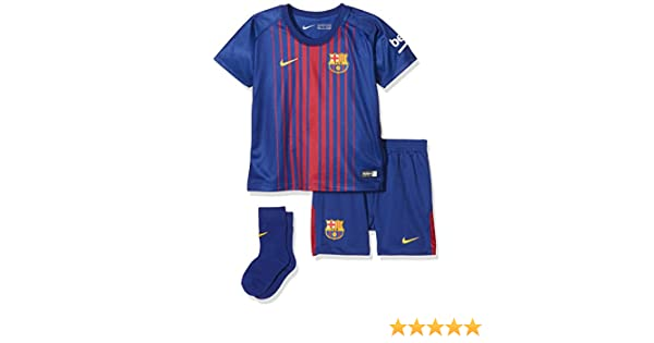 201bf9647ed Amazon.com   Nike Infants Breathe FC Barcelona Kit  DEEP Royal Blue     Sports   Outdoors