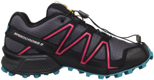 Cerise Speedcross Shoes Dark Synthetic Trail Salomon Blue Women's Bay Asphalt W Running 3 axpwU0nq75