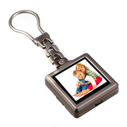 - Tao 80001 1.5-Inch Digital Photo Keychain (Brushed Metal)