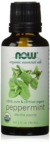Energizing Mint Essential Oil - NOW Solutions Organic Peppermint Essential Oil, 1-Ounce