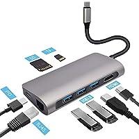 Deewaz 8-in-1 USB C Multi-Port Adapter