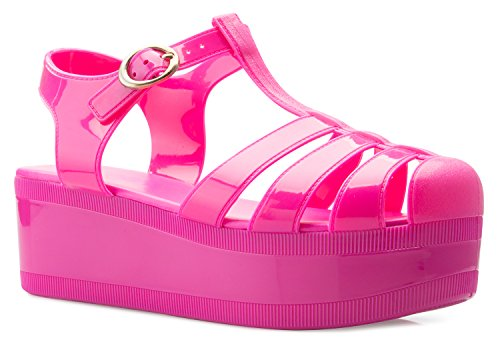 sexy jelly sandals - 7