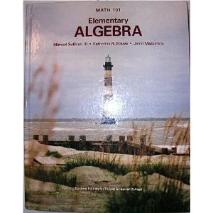 Math 101 Elementary Algebra (Custom Edition for Trident Technical College)