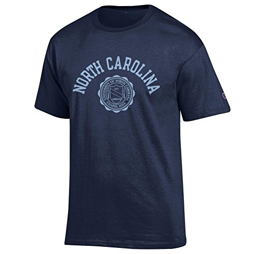 Elite Fan Shop North Carolina Tar Heels Tshirt Seal Navy - - North Carolina Seal