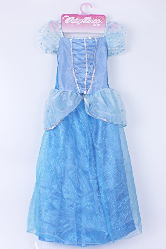 Jason Party Girls' Princess Dress Blue 4-6 years (Jason Fancy Dress)