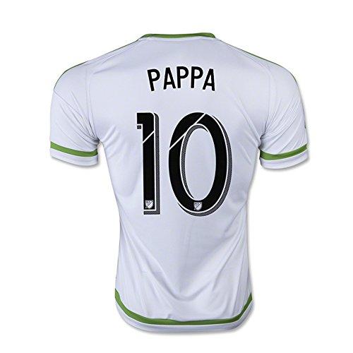 息苦しいシーフードピューAdidas PAPPA #10 Seattle Sounders FC Away Soccer Jersey 2015-16(Authentic name & number) /サッカーユニフォーム シアトル?サウンダーズFC アウェイ用 パッパ
