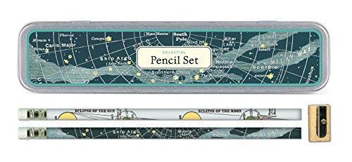Cavallini Papers & Co PS/CELEST Celestial Pencil Set