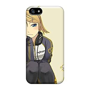 Cynthaskey Case Cover For Iphone 5/5s - Retailer Packaging Kagamine Rin Anime Girls Protective Case