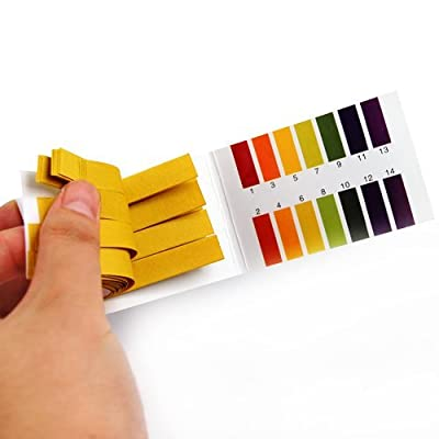 2 Packs PH 1-14 Test Paper Litmus Strips Tester, 80pcs Per Pack