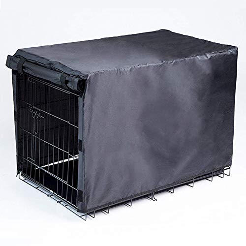 - BH Dog Crate Cover for Large Dogs-Crate Cover for Wire Crates (42-inch)