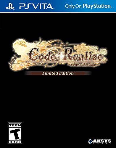 Code  Realize  Future Blessings  Limited Edition   Playstation Vita
