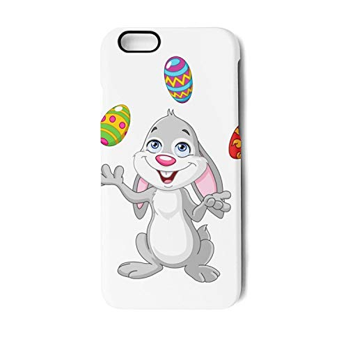 Bunny Juggling Easter Eggs Unisex Man Boy's Iphone7 Iphone8 4.7 Funny Protective Case Covers Skins]()