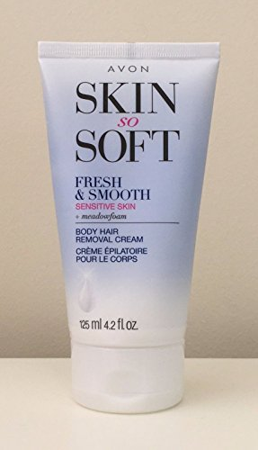 AVON Fresh & Smooth Hair Removal Cream Sensitive Skin 4.2 Oz. (Avon Skin So Soft Hair Removal Cream Reviews)