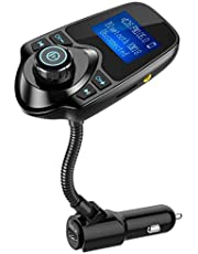 Nulaxy Bluetooth Car FM Transmitter-KM19
