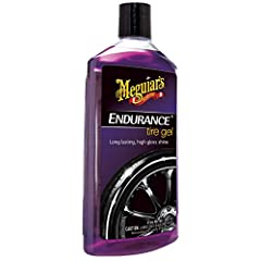 Meguiar's Endurance Tire Gel continues to be a favorite among enthusiasts who want extra long-lasting performance with an rich, dark high gloss that shines for weeks. Our unique formulation prevents tires from turning brown and eliminates the...