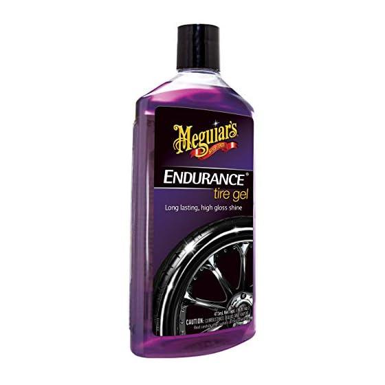 Meguiar's G7516 Endurance Tire Gel – 16 oz. – Premium Tire Gel for a Lasting Glossy Shine