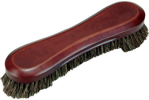 - Outlaw Stained Wood Deluxe Horse Hair Pool Table Brush, Chocolate