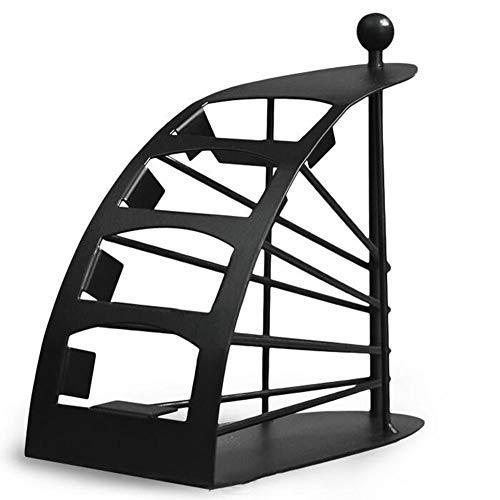 CCGG Scaffale Di Stoccaggio Domestico Telecomando Ferro Creativo Telecomando Scatola Di Controllo Remoto Casella Telecomando Telecomando