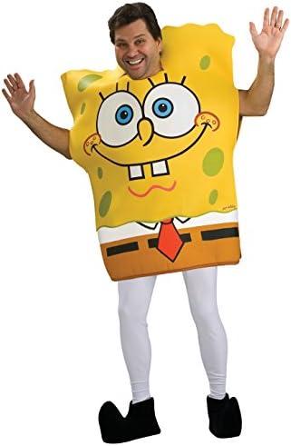Disfraz de Bob Esponja sin pantalones para adulto: Amazon.es ...