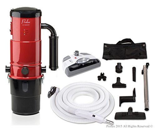 Central Vacuum System Color: Red