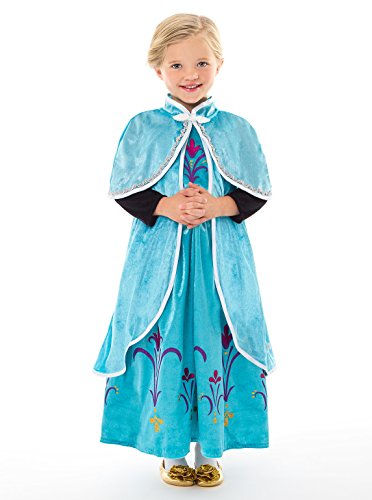 Little Adventures Ice Princess Dressup Costume Hooded Cloak (S/M Age -