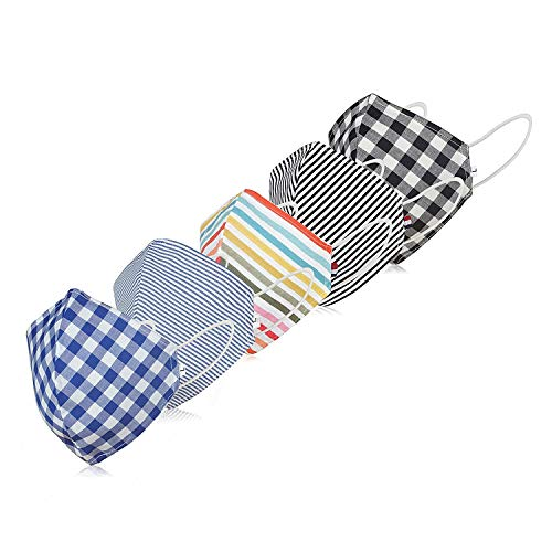KPS Cotton Multicolor Printed Reusable And Washable Face Mask – Pack of 3