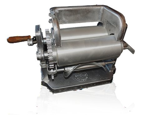 Made in Mexico Manual Corn Tortilla Maker GONZALEZ Maquina Tortilladora Aluminum 5.5'' Automatic Cutting Machine by GONZALEZ