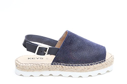 Keys sandali blu