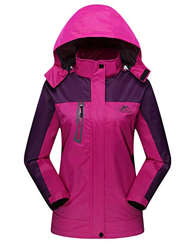 Hunting Jacket Purple Unisex Women Outdoor Softshell Coat Autumn Hooded Mens Womens f0wq66