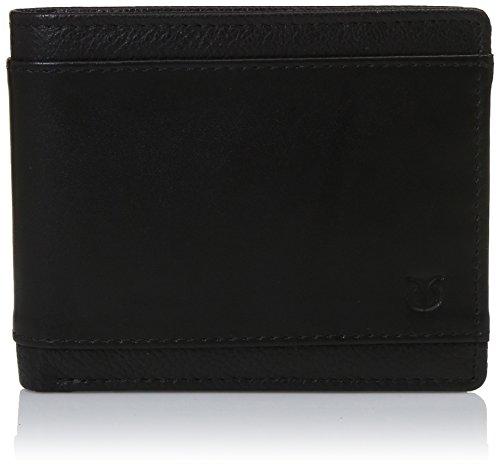 TITAN Black Leather Men #39;s Wallet  TW162LM3BK