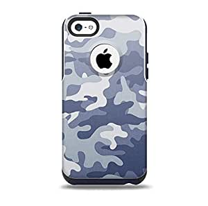 The Traditional Snow Camouflage Skin for the iPhone 5c OtterBox Commuter Case (Decal Only)
