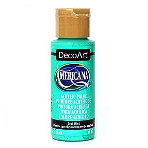 DecoArt DECA.332 Americana Acrylic Teal Mint, 2 oz