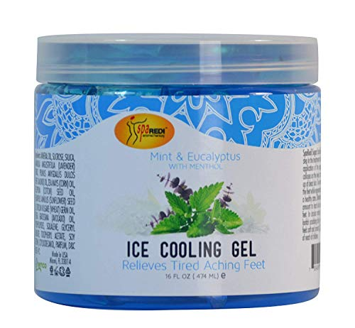 Spa Redi Ice Cooling Gel (16 oz - Mint & Eucalyptus)