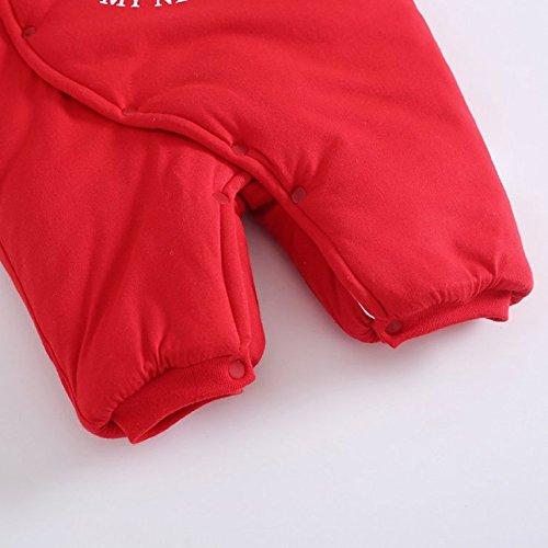 Dream-Store Christmas Toddler Newborn Baby Girls Boys Jumpsuit Pajamas Cute Playwear Romper