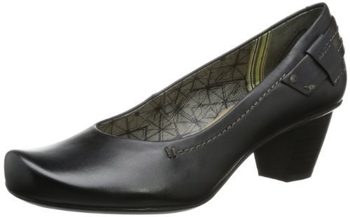 Marc Shoes Banja - Cerrado de cuero mujer negro - Schwarz (black 100)