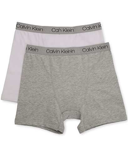 Grey Da Slip Assortiti white 2 Klein Boxer confezione Calvin Ragazzo O8qHxFw
