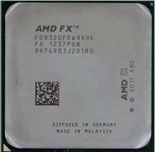 AMD FD8320FRW8KHK FX-8320 AM3+ 16MB 8C 125W 4G (Amd Eight Core Fx 8320 Vishera Processor)