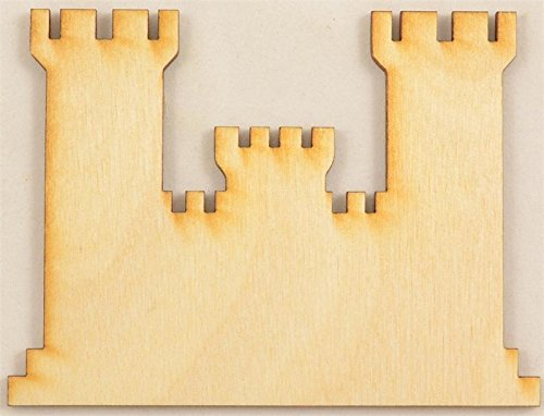 CMEngCastle Engineers Castle Wood Cutout / Package of -