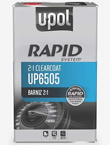 U-POL 6505 Rapid System Clearcoat, 5L Tin