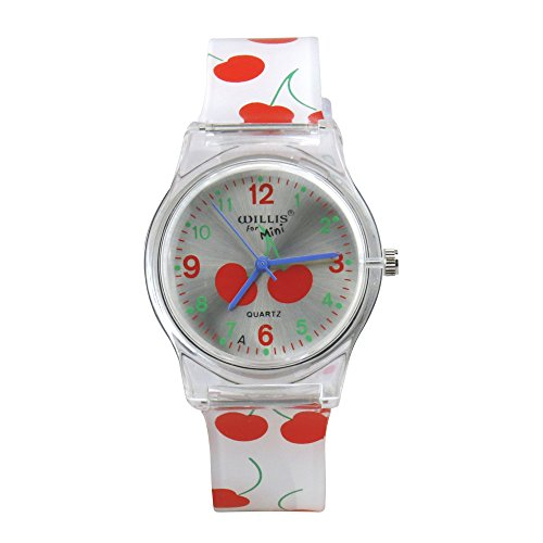 Kids Watch Time Teacher Watch Easy Read Quartz Watch with Soft Silicone Watch Band Comfortable for Children Colorful Watches Boys Girls Wristwatches