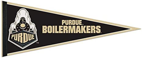 WinCraft NCAA Purdue University Boilermakers 6x6 inch White Decal