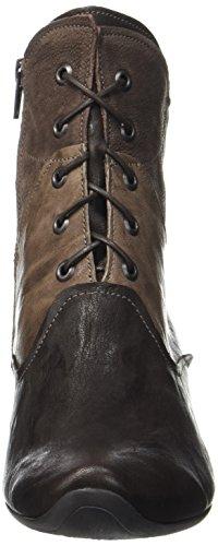 Donna espresso kombi 42 Stivali Boots Desert Marrone Think Aida x4qTR4I