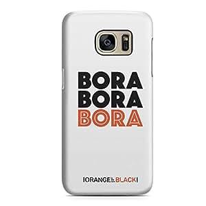 Samsung Galaxy S7 Edge Case Bora Oitnb Tv Show Durable Hard Plastic Samsung Galaxy S7 Edge Cover Wrap Around