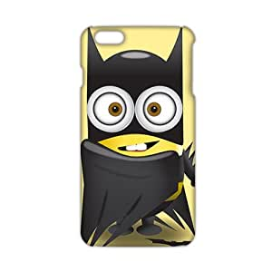Wish-Store Red cloth lovely Minions 3D Phone Case for iPhone 6 plus Kimberly Kurzendoerfer