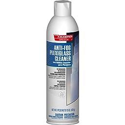 Champion Sprayon Anti Fog Plexiglass Cleaner, 19 oz. (12 Cans/Case) - BMC-CHA 438-5142
